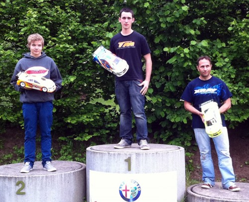 Simon Allemann - Team Magic E4RS II - wins Swiss Championship Warm-Up GP at Langenthal