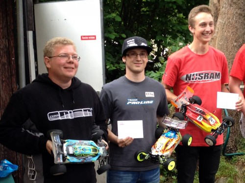 Patrick Hofer - Team Associated - Wins 4WD Off Road Swiss Championship round 3 at Obernau