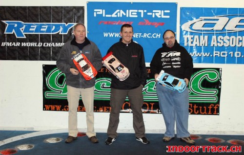 ART Winter Championship R1 Podium