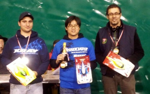 Khounmy Bui - RC12R5.2 - wins Ticino Championship round 3