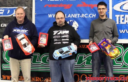 Lionel Troyon, HRC & Team Magic E4RS II takes the 1/10 Touring ART Winter Champion 2013 title !!