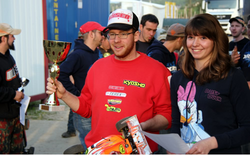 Jeremy Pittet & Ultimate Racing wins 1/8 Off Road Swiss Championship Round 1
