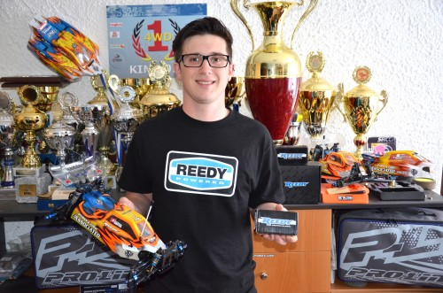 Patrick Hofer is now REEDY powered !