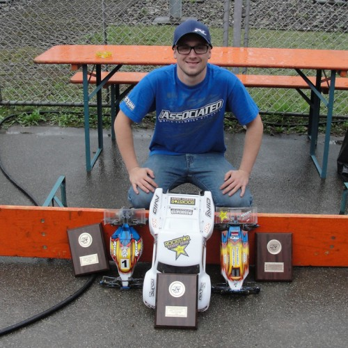 Patrick Hofer / Team Associated - TRIPLE WINS - last round of SWISS NATIONALS 2013 !!