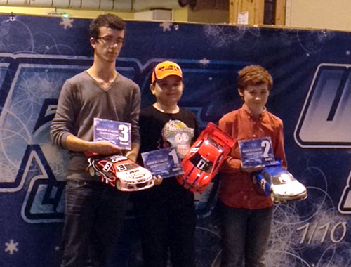 Théo François / Team Magic E4RS II EVO wins the Indoor Winter series @ Longwy (France)
