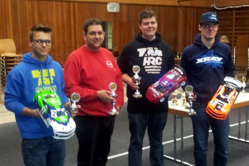 Philipp Walleser / Team Magic E4RS II EVO wins Bawue Cup 2013/2014 round 2 @ Singen