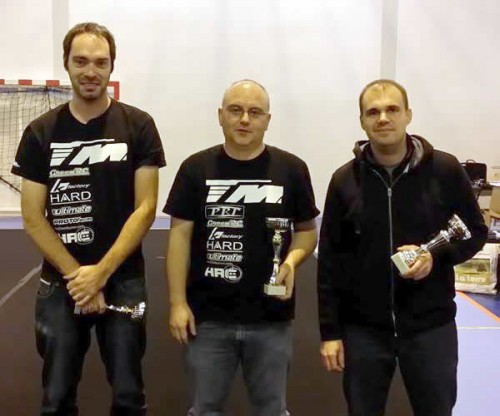 Team Magic E4RS II EVO wins Ligue 10 race @ Pierrelatte (France)