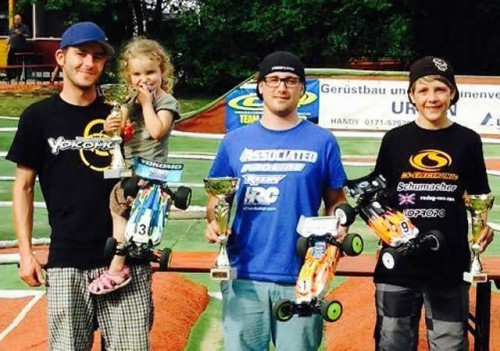 Patrick Hofer / Team Associated wins nationals qualification in Gemünden Germany