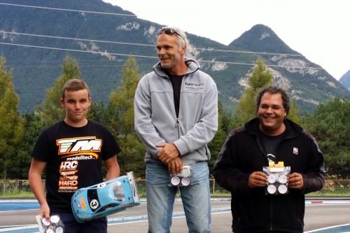 Jordy Dubuis / Team Magic E4RS II EVO on the 2nd place @ Motonica Grand Prix of Aigle