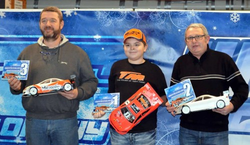 Victory and Podium performance for Team Magic @ Winter Series round 5 / Longwy