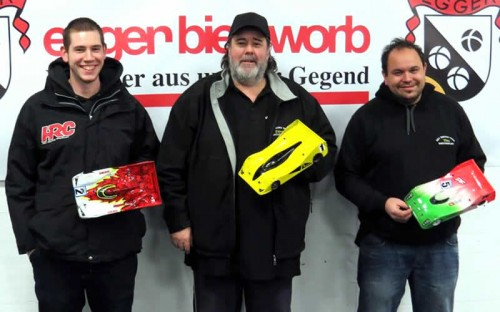 Stefan Wüthrich / Associated RC12R5.2 on 2nd place @ 2015 ART Winter Cup Round 4