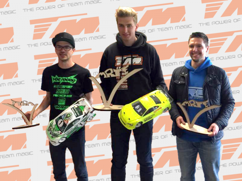 Léo Arnold / TM E4RS III wins French Championship Round 2 @ Evry !!