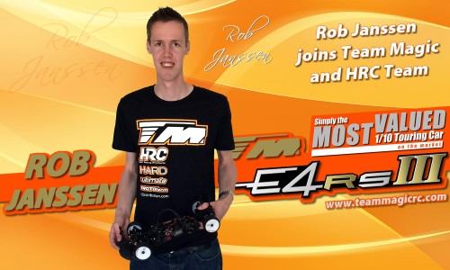 Rob Janssen Joins Team Magic