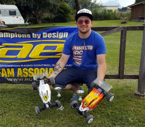 Another win for Patrick Hofer / Associated B5M at Swiss Nationals @ Hohenems