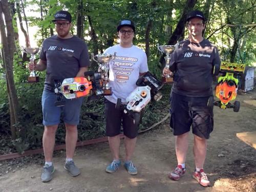 Patrick Hofer / Associated RC8B3 wins Swiss Championship Rd3 @ Gland