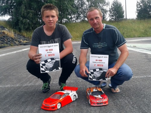 Another podium performance for Team Magic E4RS III in Czech Republic