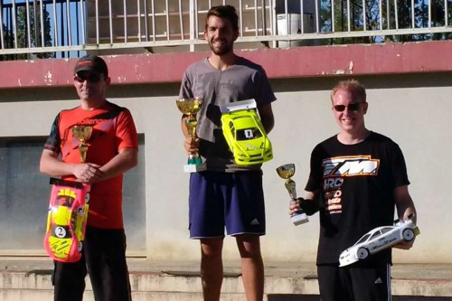 Jeremy Clavey / TM E4RS III on the podium of French Cup Warm-Up Race @ Longvic