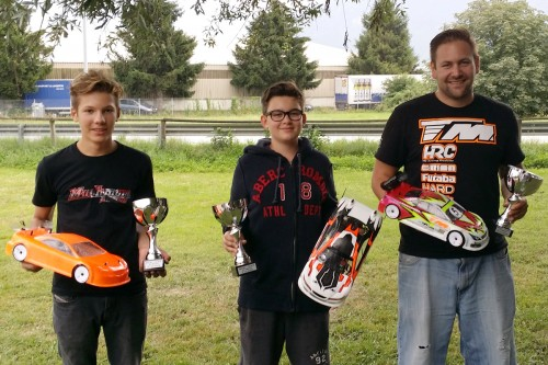 Patrick Gassauer / TM E4RS III obtain the 3rd place at the Swiss Championship round 4