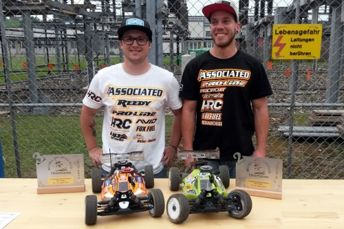 Two Associated / HRC drivers on the podium at 1/8 Off Road Swiss National Rd5 @ Oberbüren