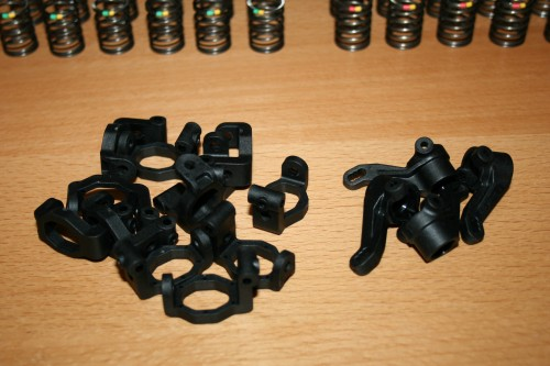 E4RS III - New C-Hubs and Steering Blocks