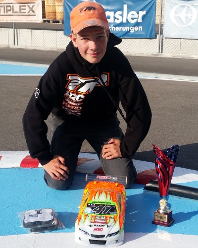 Marco Balmer / E4RS III is 1/10 Touring ProStock National Vice-Champion !!