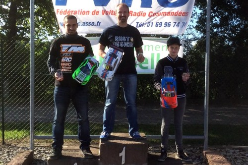 Three podiums for Team Magic / HRC Team at French Championship Round 5 @ Reding !!