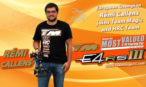 Rémi Callens - former European Champion - joins Team Magic / HRC !!