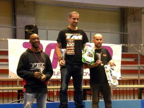 Rudy Amaral / Team Magic E4RS III wins French Indoor Nats round 1 at Montbrison