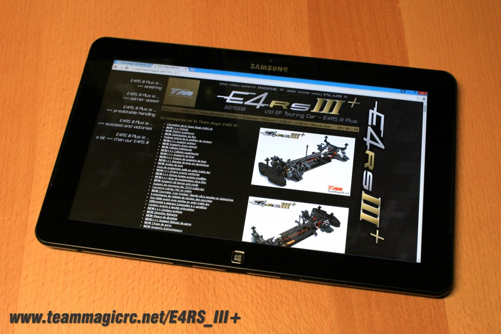 Team Magic E4RS III+ official website