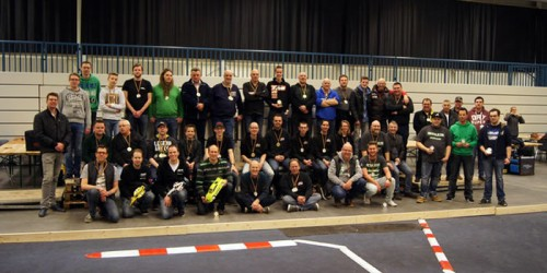 Rob Janssen wins New Year Cup 2016 at MAC Lingen