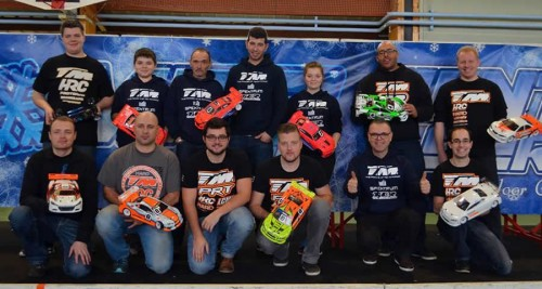 Great Performance for Team Magic E4RS III+ at Winter Series round 3 @ Longwy !!