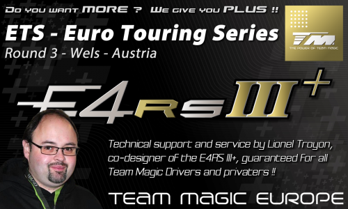 Team Magic support at Euro Touring Series round 3 @ Wels / Austria