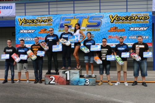 Patrick Gassauer / Team Magic E4RS III Plus on the TOP at ETS round 6 in Slovakia
