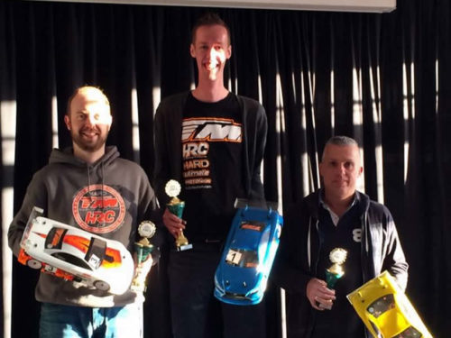 Janssen and Arts on top at 3rd AMCA race club at Apeldoorn !
