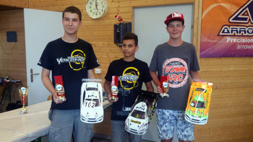 Marco Balmer / Team Magic E4RS III Plus on podium at Swiss Nationals round 4 !!