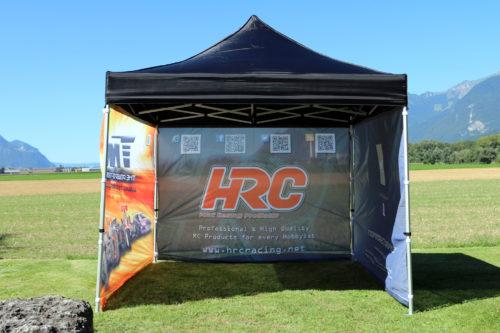 New Team Magic Europe / HRC Racing Race Team Pavillon !