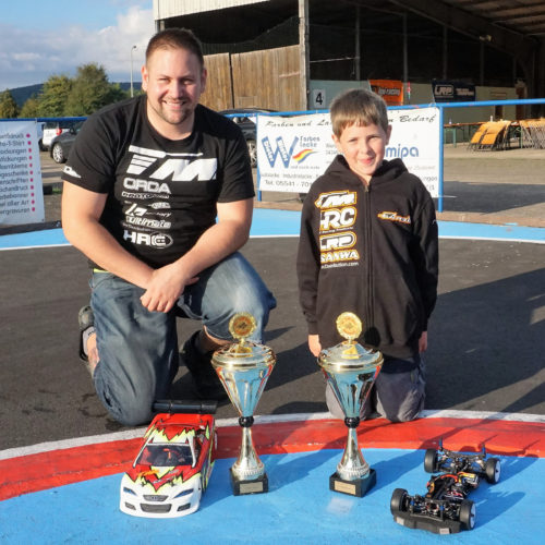 Patrick Gassauer & Julian Garbi wins LRP German Championship Finales !
