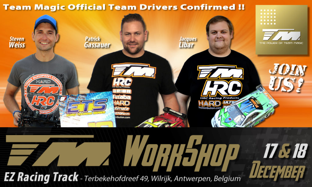 Official Team Drivers participation