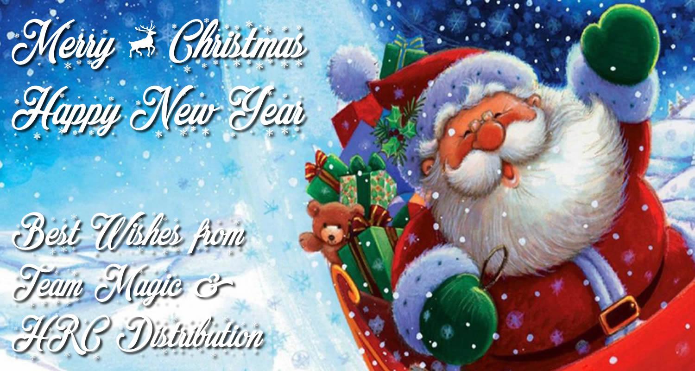 Merry Christmas & Happy New Year !!   Team Magic Blog