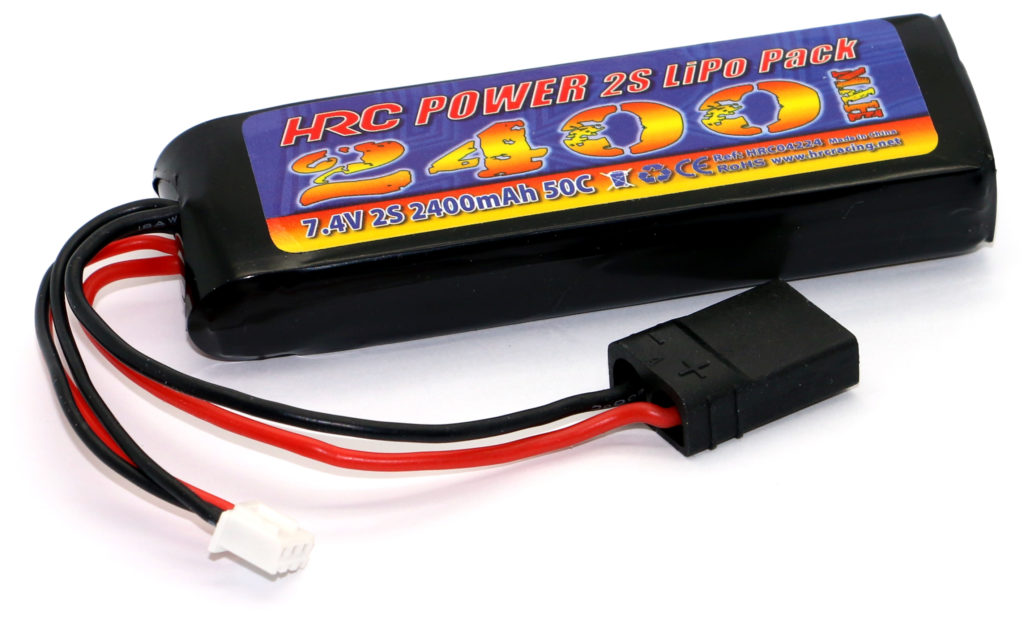 NEW - HRC Racing 1/16 & 1/18 LiPo Batteries