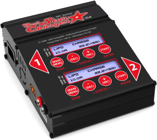 NEW - HRC Racing DUAL STAR Charger
