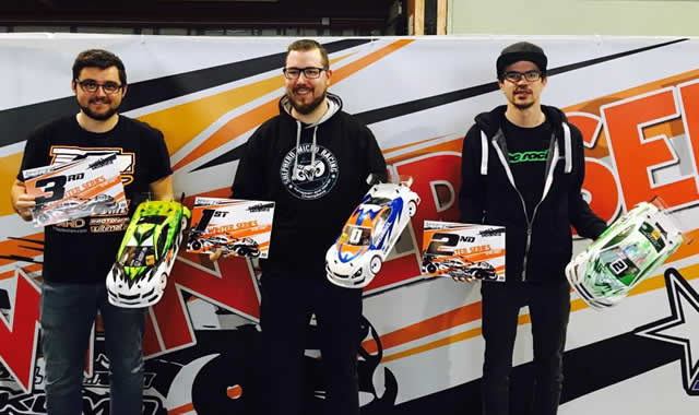 Rémi Callens / Team Magic E4RS III Plus finish on the podium of the Winter Series #4 at Longwy