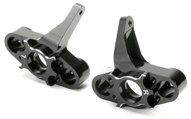 NEW – Team Magic CNC Machined Aluminium Steering Blocks & Pivot Ball Mounts for E5 & E5 HX