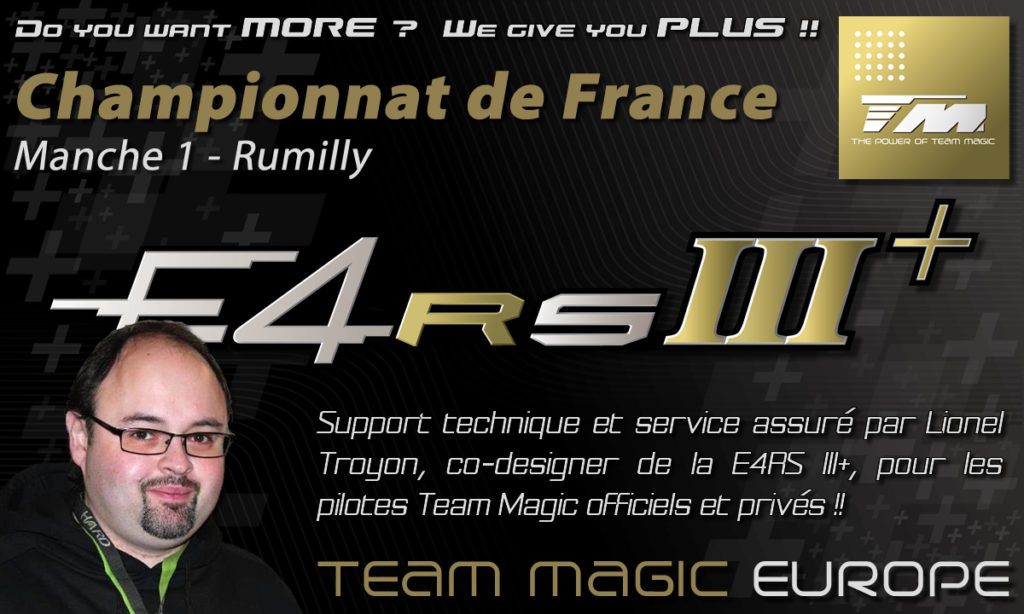 Team Magic Service and Support at French Championship Round 1 @ Rumilly