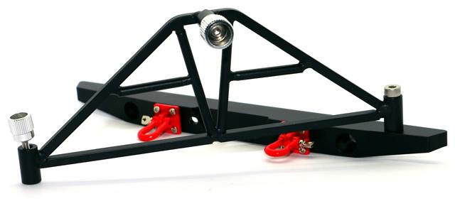 NEW - HRC Racing 1/10 Crawler Aluminium Bumpers with LEDs