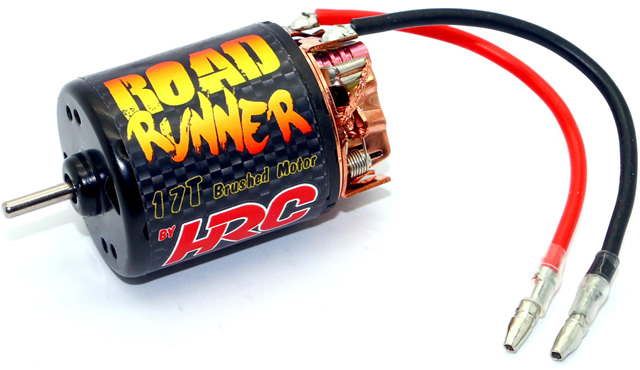 NEW - HRC Racing Brushed Electric Motor for Hobby Applications