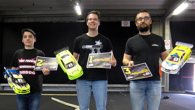 Stefan Rommens / Team Magic E4RS III Plus on the podium of Belgian Nationals Rd 1 !