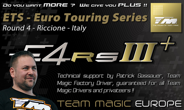 Technical Support and Service at ETS round 4 @ Riccione in Italy