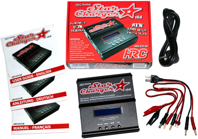 NEW - HRC Racing Star Charger V3.0 with LiHV mode