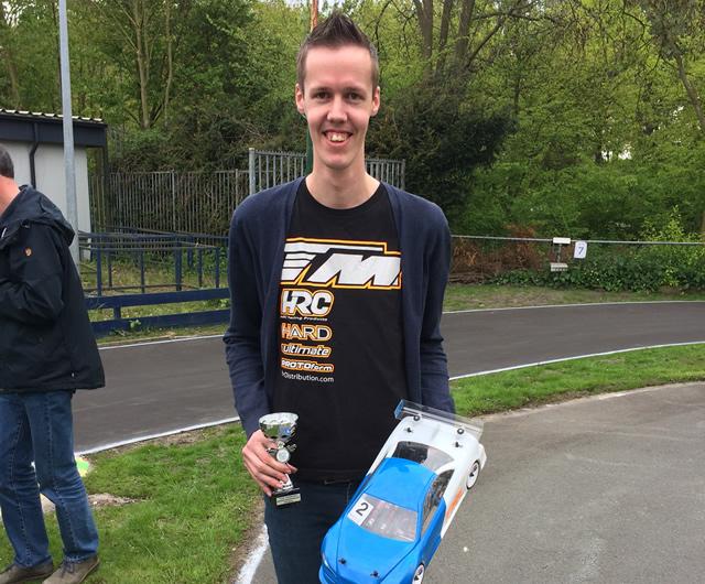 Rob Janssen / Team Magic E4RS III Plus wins first round of Dutch Nationals !